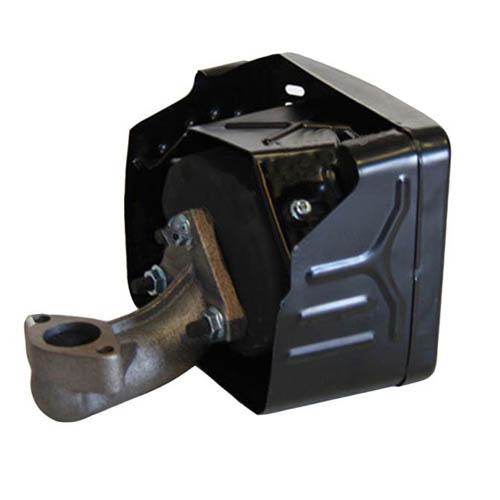 Глушитель двигателя 177F(GX270)