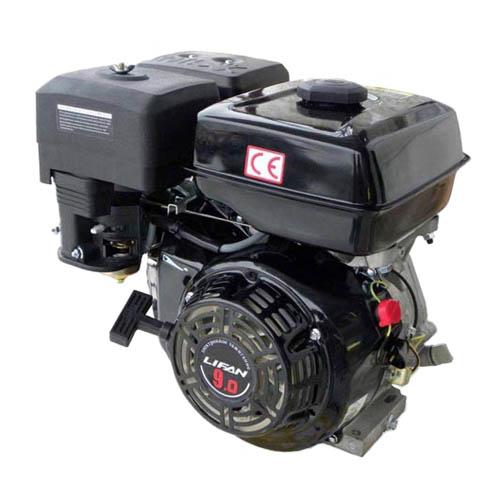 Двигатель Lifan 177F(вал 25мм, 80x80) 9лс